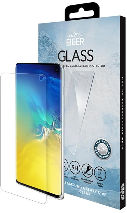 Eiger EGSP00468 GLASS Tempered Glass Screen Protector for Samsung Galaxy S10 E in Clear