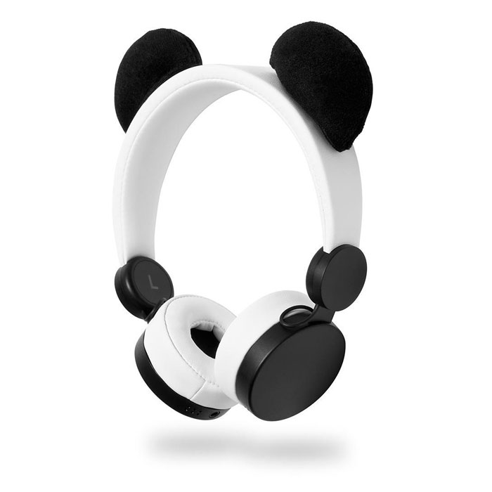 On-ear ενσύρματα ακουστικά Animaticks Patty Panda Nedis HPWD4000WT
