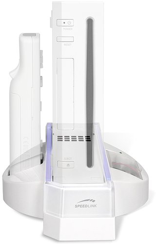 Βάση φόρτισης για το Wii SPEEDLINK SL-3404-SWT Cool Blue Charging Stand