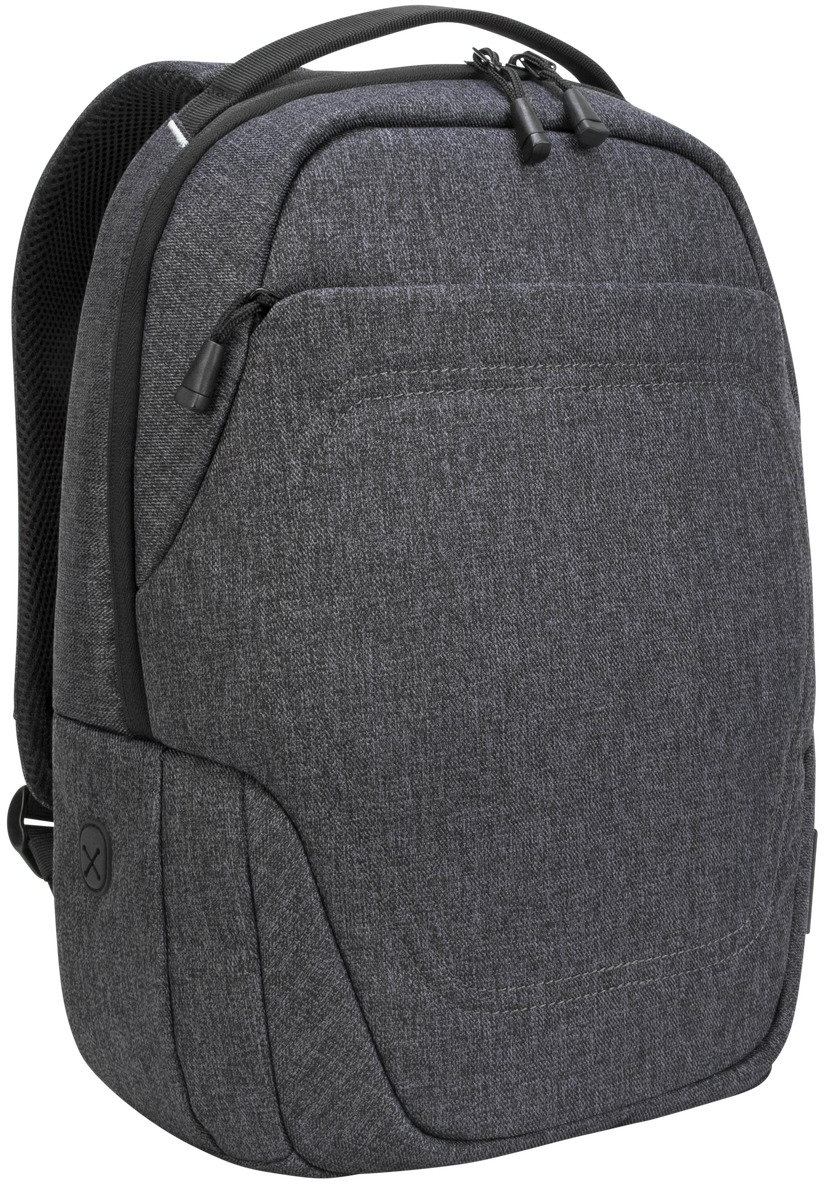 "Targus TSB952GL Groove X2 Compact Backpack designed for MacBook 15"" & Laptops up to 15"" - Charcoal"
