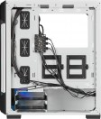 Corsair CC-9011191-WW iCUE 220T RGB Tempered Glass Mid-Tower Smart Case - White