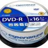 Esperanza ESP DVD-R 4,7GB X16 - CAKE BOX 25 PCS