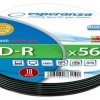 CD-R 700MB/80min, 52x Speed, Soft Pack 10τμχ, Esperanza ESP CD-R SILVER