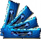 Μνήμη DDR4 2400-15 16GB (2x 8GB) G.Skill Ripjaws 4 Blue F4-2400C15Q-16GRB