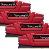 Μνήμη DDR4 2400-15 64GB (4x 16GB) G.Skill Ripjaws V Red F4-2400C15Q-64GVR