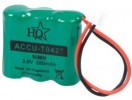 3,6V 280mAh Ni-MH BLISTER HQ ACCU-TO427