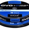 10 double layer DVD+R 8.5GB 8x Intenso 06922 σε πλαστική θήκη