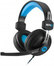 Στερεοφωνικό headset Sharkoon Rush ER2 Blue