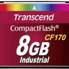 Κάρτα μνήμης CF Transcend CF170 CF Card 8 GB MLC