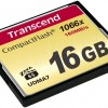 Κάρτα μνήμης CF Transcend 1066x CompactFlash (Ultimate) 16 GB